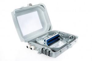 Päätekotelo 24xSC/SPX, 340x240x93mm, Muovi IP66